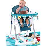 Décorations pour chaise haute Mickey Mouse 1er anniversaire, paq. 2 | Amscannull