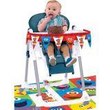 Sesame Street Elmo 1st Birthday High Chair Decorating Kit, 2-pc