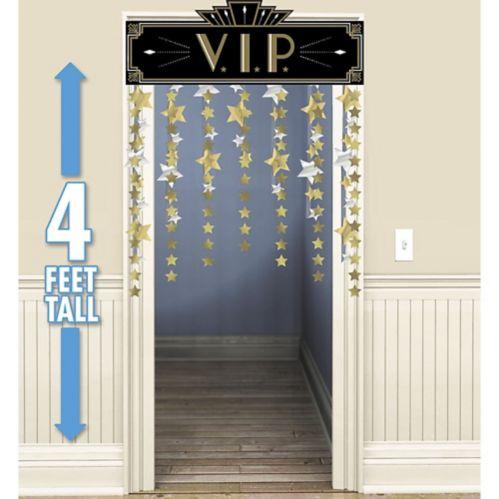 Hollywood VIP Doorway Curtain