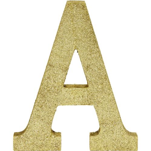 Glitter Gold Letter Sign Product image