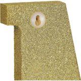 Glitter Gold Number Sign | Amscannull