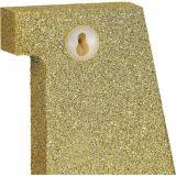 Glitter Gold Symbol Sign