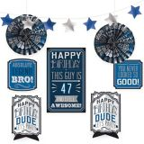 Vintage Happy Birthday Decorating Kit, 8-pc | Amscannull