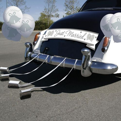 Deluxe Wedding Car Decorating Kit