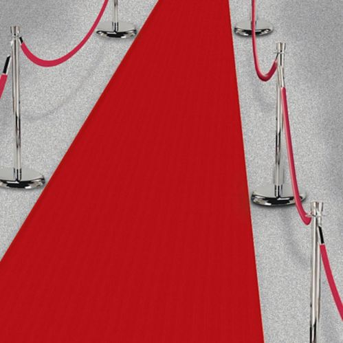 Tapis de couloir Hollywood, rouge, 3 x 40 pi Image de l'article