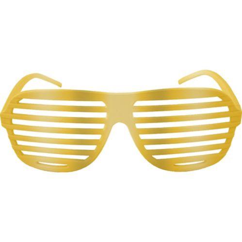 Lunettes à obturation dorées Image de l'article