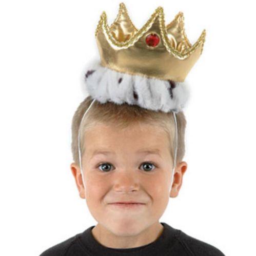Plush Gold Crown