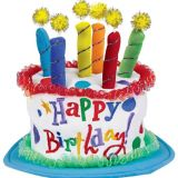 Chapeau Gâteau de fête en pluche