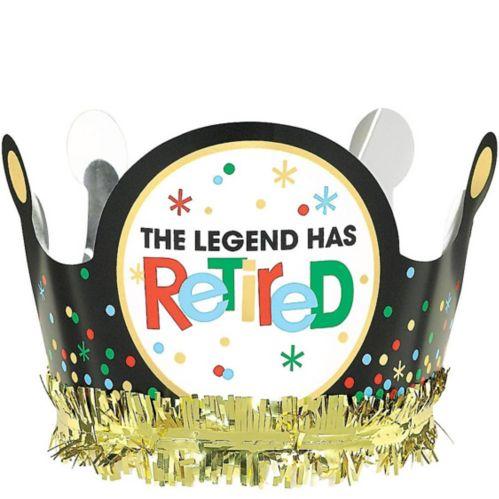 Happy Retirement Celebration Crown
