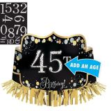 Sparkling Celebration Birthday Crown Kit | Amscannull