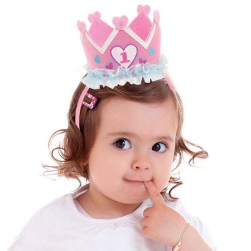 Princess 1st Birthday Headband