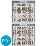 Bingo Game Sheets, 125-pk