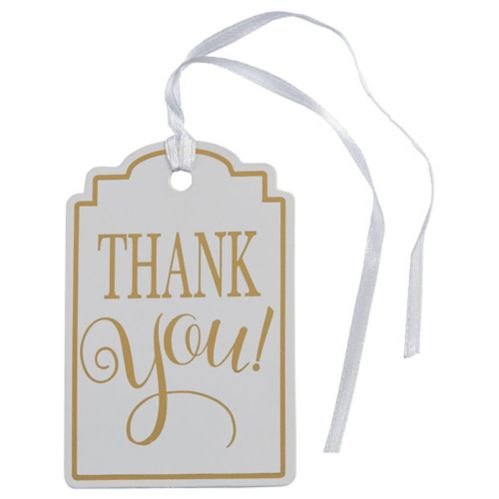 Thank You Gift Tags, 25-pk