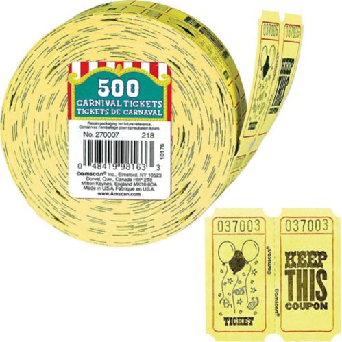 Ticket Roll, 500-pk