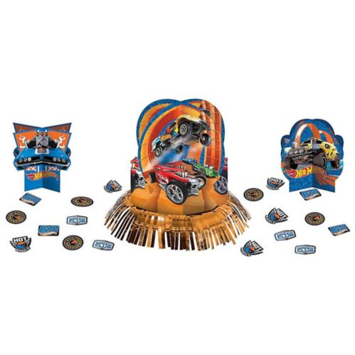 Hot Wheels Table Decorating Kit, 23-pc