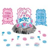 Girl or Boy Gender Reveal Table Decorating Kit, 23-pc | Amscannull