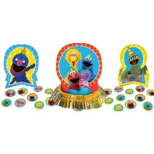 Sesame Street Table Decorating Kit, 23-pc