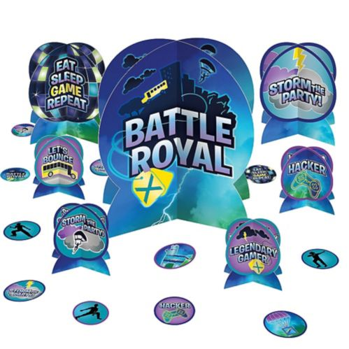 Décorations de table Battle Royal, paq. 27