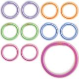 Bracelets lumineux multicolores, paq. 36 | Amscannull