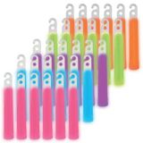Multicoloured Glow Stick Necklaces, 50-pk