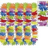 Rainbow Floral Leis, 25-pk | Amscannull