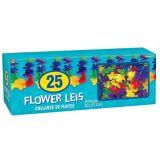 Colliers de fleurs arc-en-ciel, paq. 25 | Amscannull