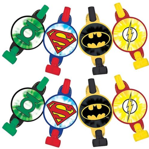 Justice League Blowouts, 8-pk
