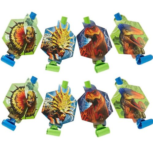 Jurassic World Blowouts, 8-pk