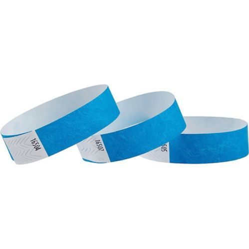 Solid Wristbands, 100-pk