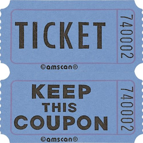 Double Roll Raffle Tickets, 2000-pk Product image