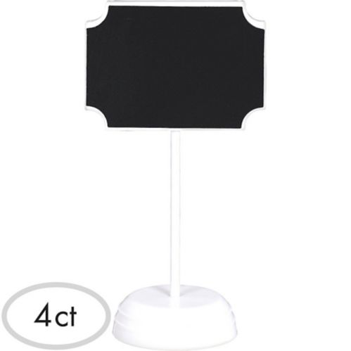 Étiquettes tableau noir, paq. 4