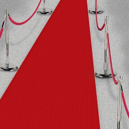 Tapis de couloir Hollywood, rouge, 2 x 15 pi Image de l'article