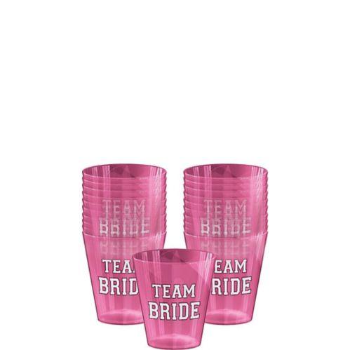 Team Bride Shot Glasses, 40-pk