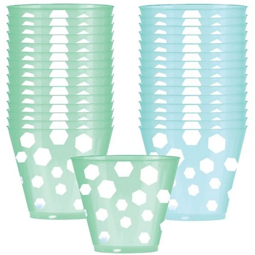Shimmering Party Plastic Cups, 30-pk