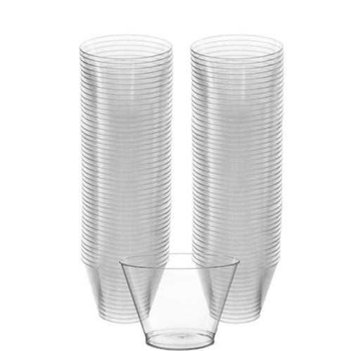 Big Party Pack CLEAR Plastic Cups, 88-pk