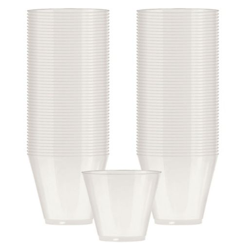Big Party Pack Pearl Plastic Cups, 72-ct