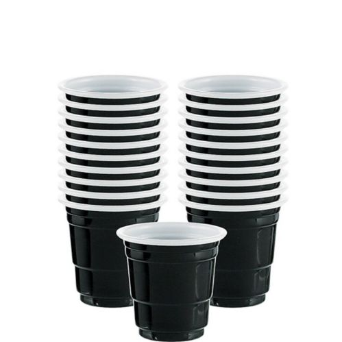 Royal Plastic Cup Shot Glasses, 30-pk