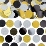 Shiny Metallic Confetti | Amscannull