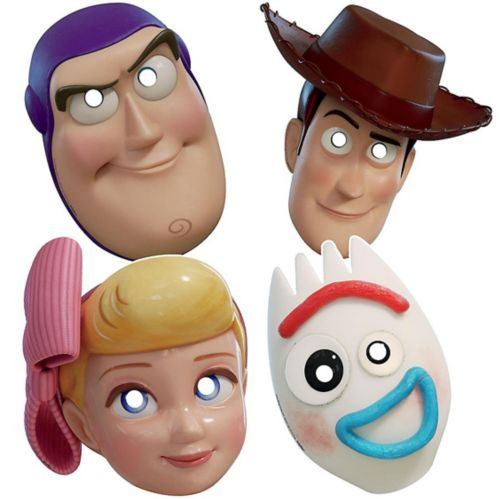 Toy Story 4 Masks, 8-pk