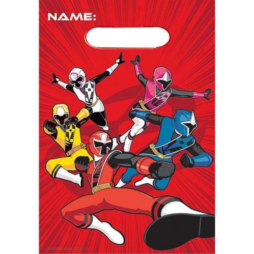 Sacs à surprises Power Rangers Ninja Steel, paq. 8