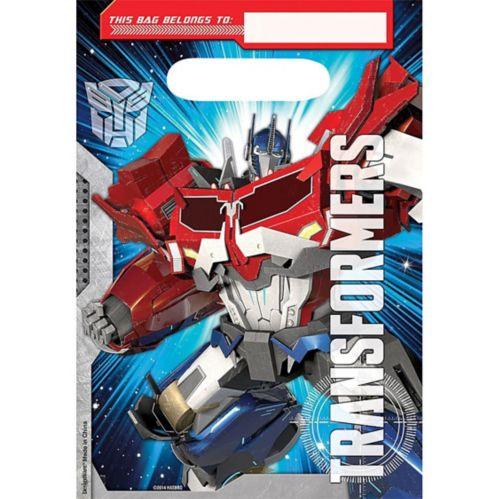 Sacs à surprises Transformers, paq. 8