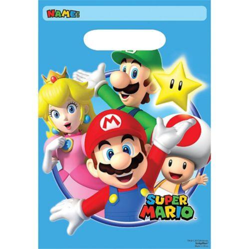 Sacs à surprises Super Mario, paq. 8