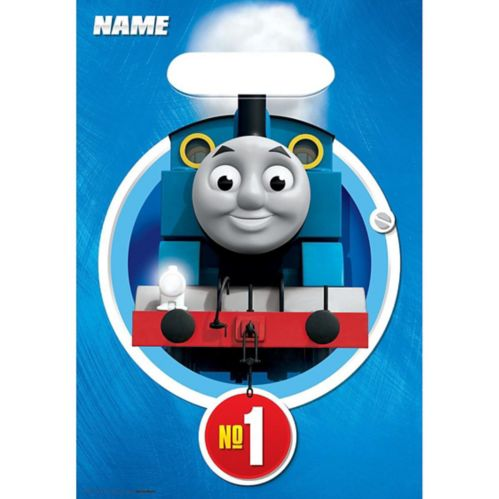 Thomas the Tank Engine Favour Bags, 8-pk