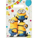 Minions Favour Bags, 8-pk | Universalnull