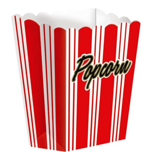 Large Movie Night Popcorn Boxes, 8-pk