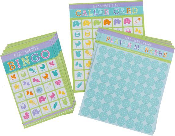 Value Bingo Baby Shower Game, 12-pc Product image