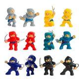 Ninjas jouets, paq. 12 | Amscannull