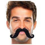 Moustache en croc
