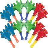 Mini-bruiteurs en forme de main, paq. 12 | Amscannull