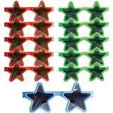 Lunettes de soleil étoiles, paq. 8